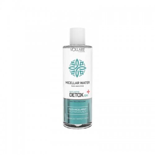 Apa pentru curatare cu particule micele Detox 400 ml Vollare