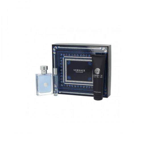 Versace Pour Homme EDT 100 ml + EDT MINI 10 ml + SG , barbati, 150 ml