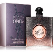 Apa de parfum Yves Saint Laurent Black Opium Floral Shock, Femei, 90ml